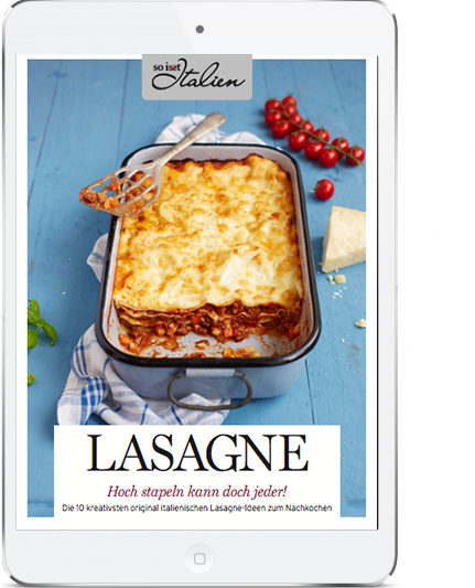 So is(s)t Italien - E-Book Lasagne