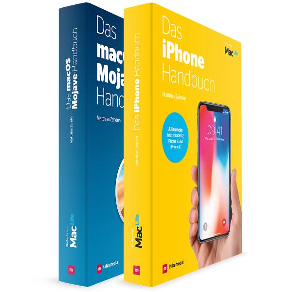 Mac Life Fachbücher Mojave & iPhone