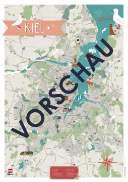 Stadtkarte Kiel