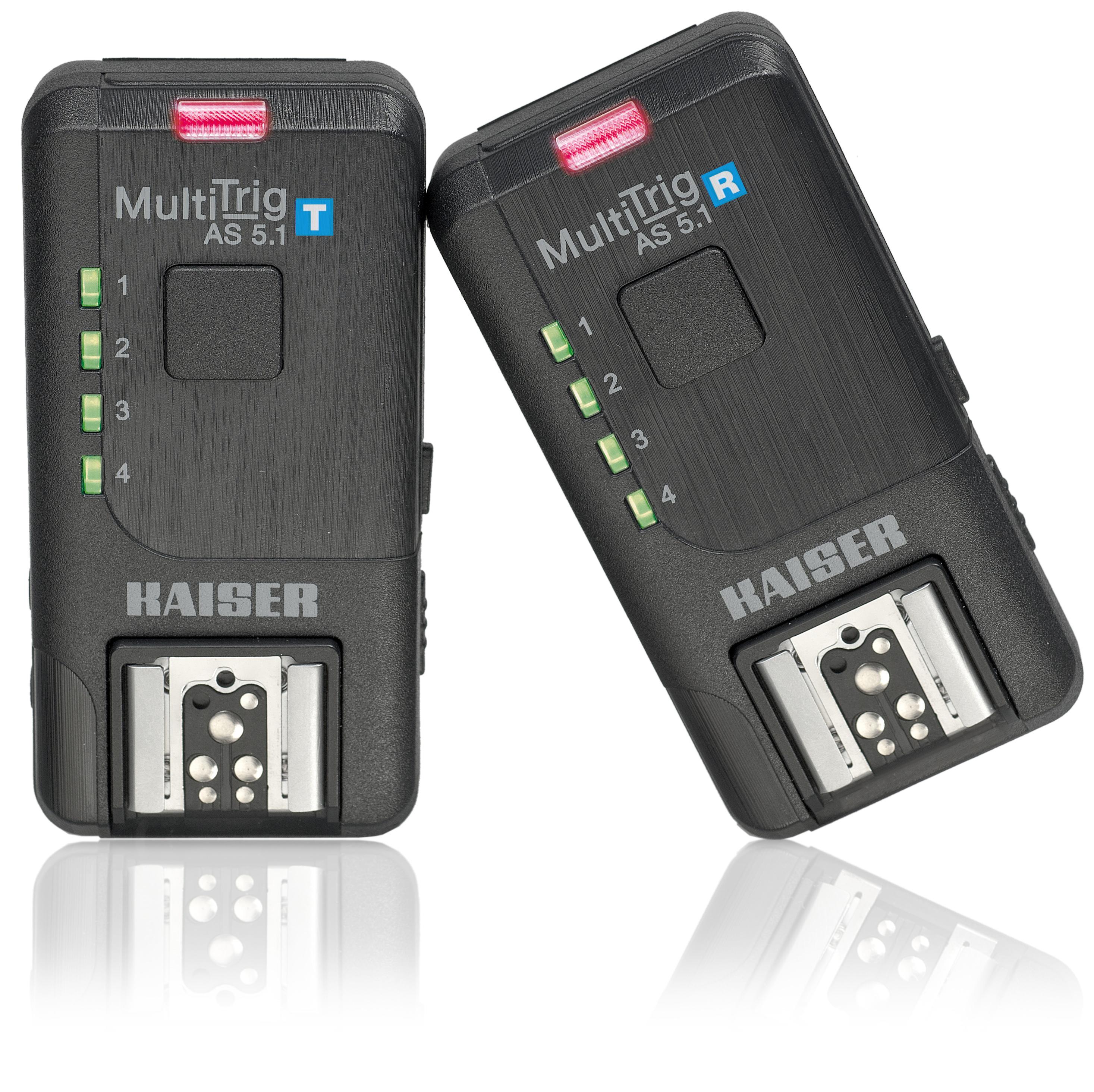 Kaiser Funkauslöser-Set MultiTrig AS 5.1 für Kamera oder Blitz