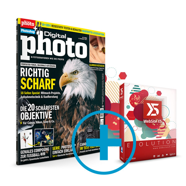 digitalPHOTO & Website X5 Evolution