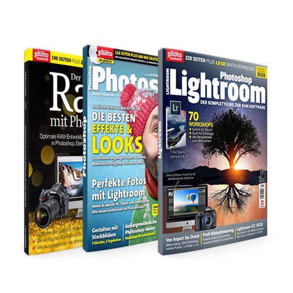Photoshop, Raw & Lightroom Bundle