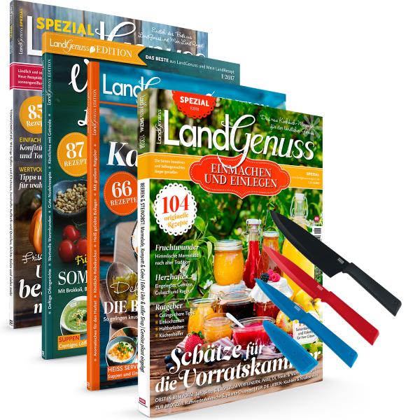LandGenuss Spezial und Colori Messerset