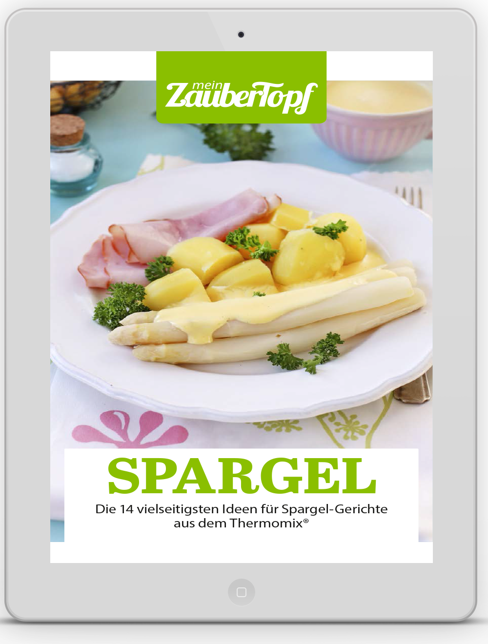 Mein ZauberTopf - E-Book Spargel