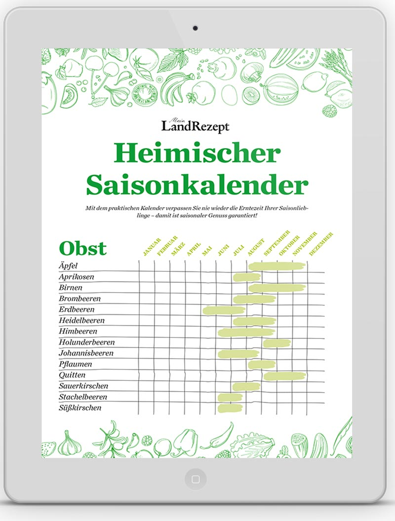 LandRezept Saisonkalender