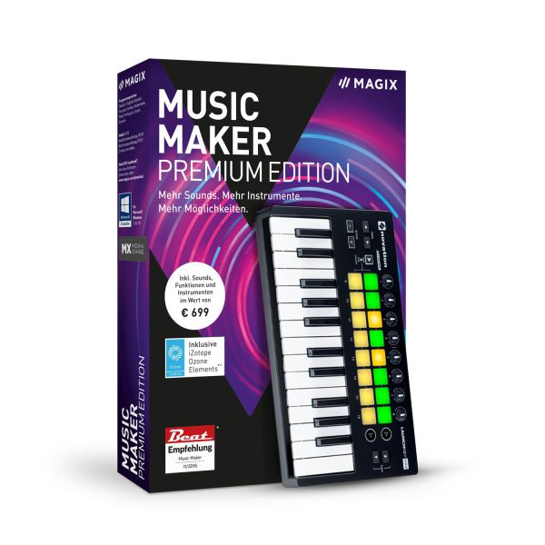 Music Maker 2019 Performer Edition