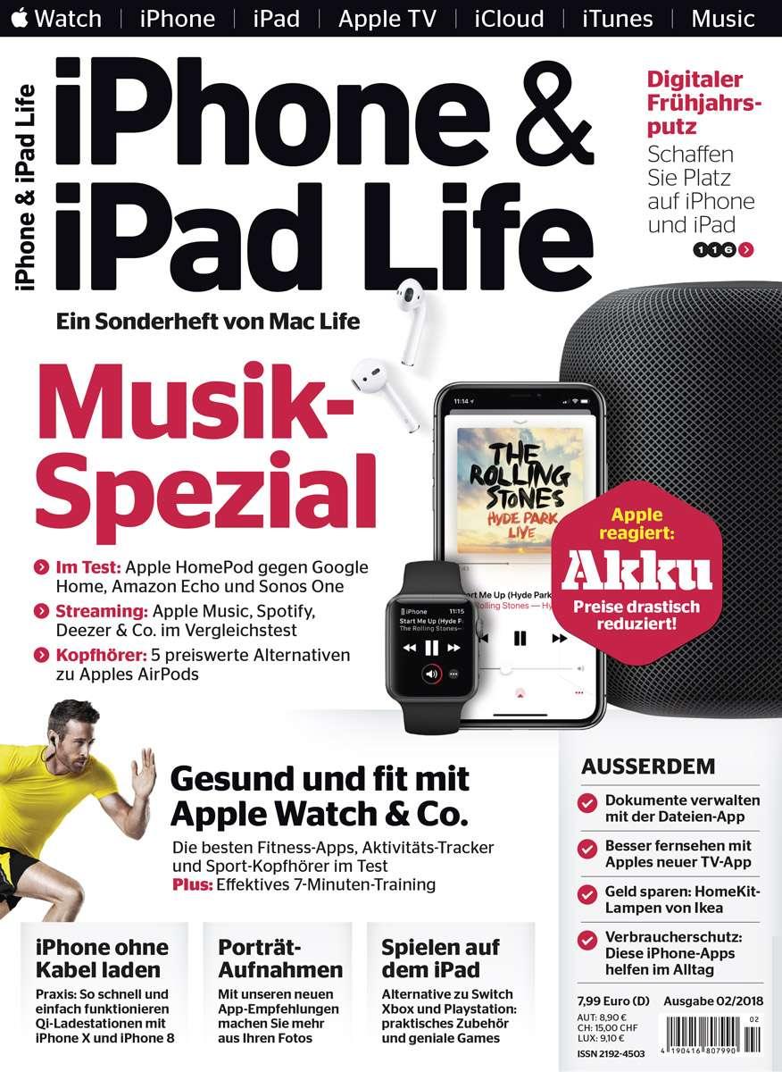 iPhone & iPad Life 02/2018 → Jetzt bei falkemedia kaufen | falkemedia