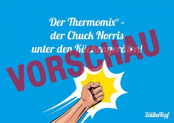 Motivkarte Thermomix® - Chuck Norris