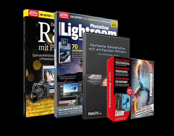 Lightroom & Raw Bundle mit DVD's