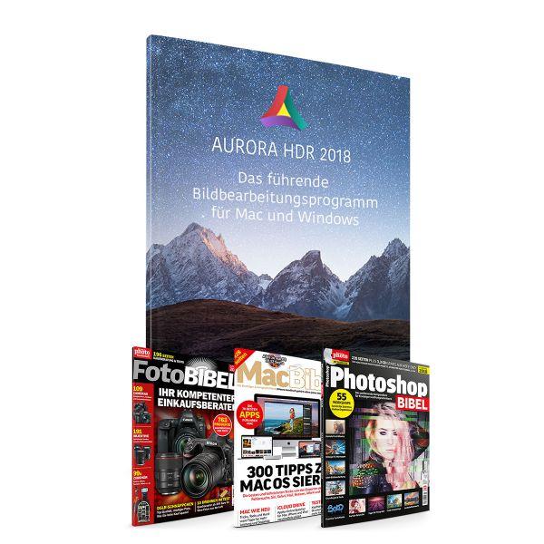 AURORA HDR 2018 + 3 Fachbibeln