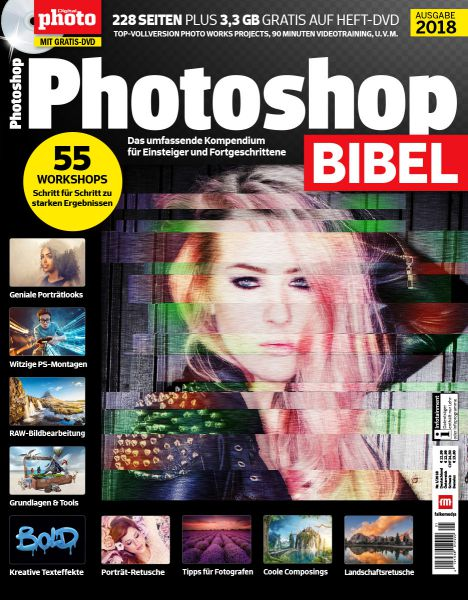 Photoshop Bildbearbeitung Wissenspaket 2018