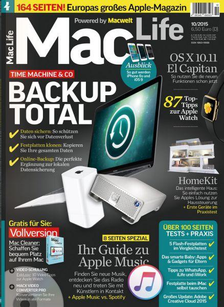 Mac Life 10/2015