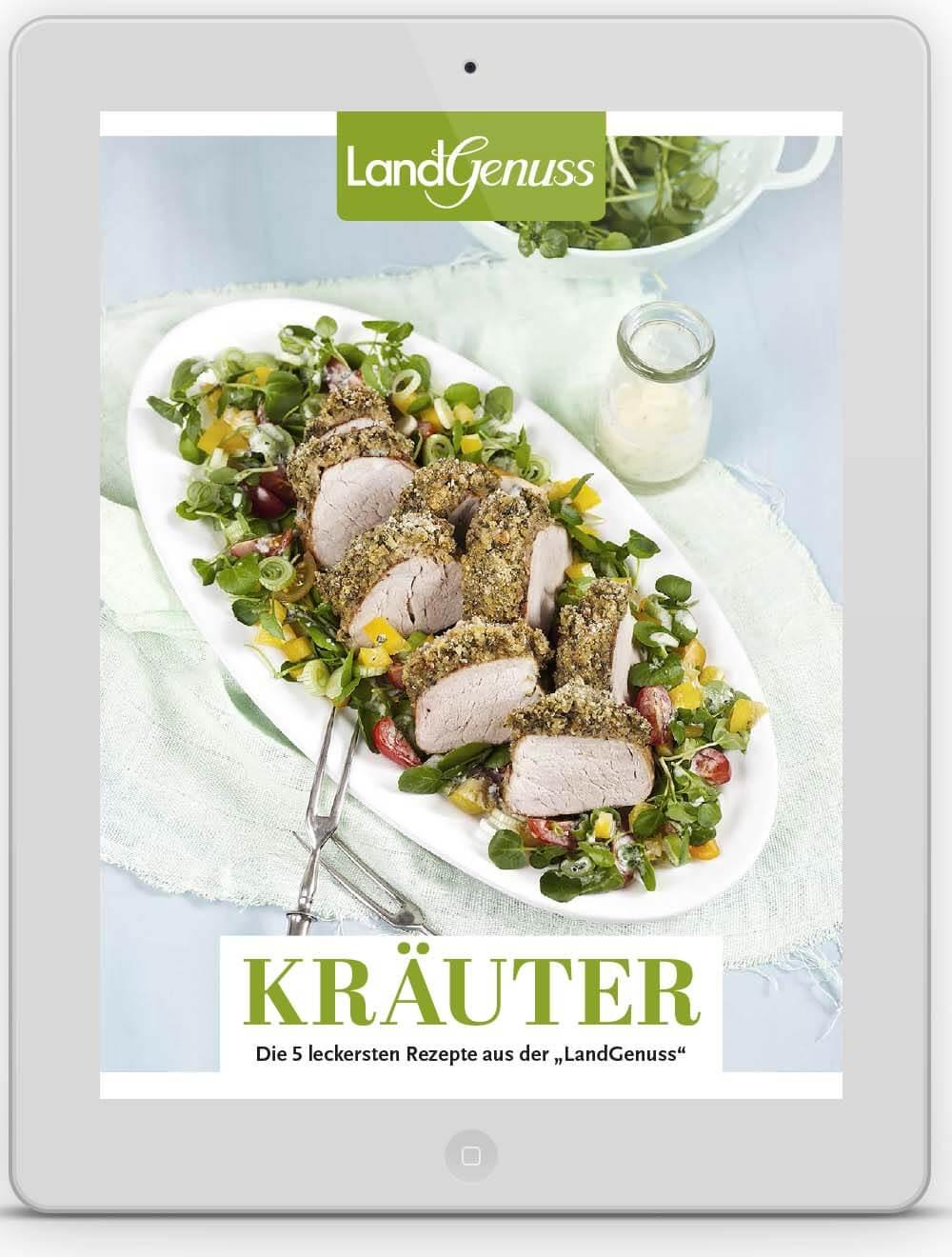 LandGenuss E-Book Kräuter