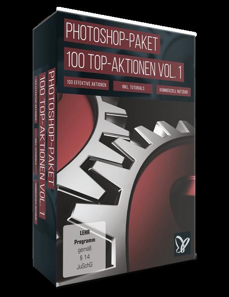 Photoshop-Aktionen-Paket: Vol 1 : Top 100 Aktionen