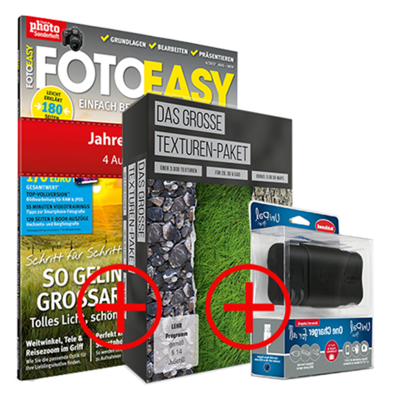 FotoEasy Bundle inkl. UniPal mini