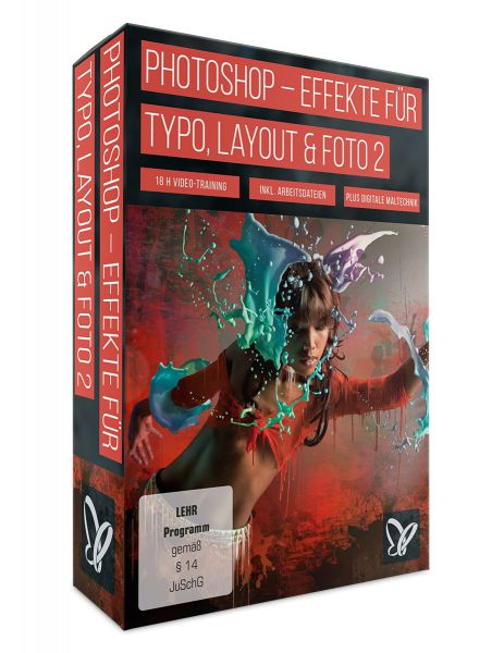 Photoshop-Workshop DVD: Effekte für Typo, Layout & Foto: Vol2