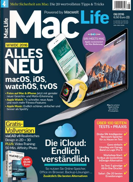 Mac Life 08/2016