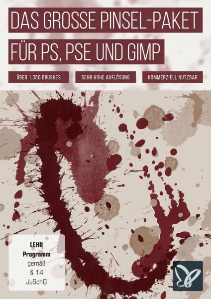 Das große Pinsel-Paket - für Photoshop, Photoshop Elements und GIMP