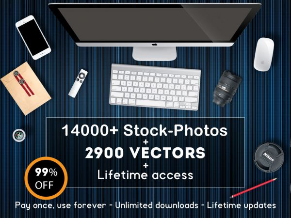 Stock-Graphics Lifetime-Account-Giga