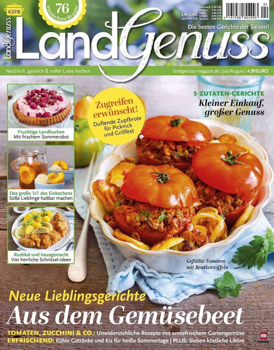LandGenuss 04/2018 ♥ Jetzt bei falkemedia kaufen   falkemedia