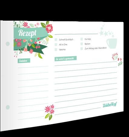 MeinZaubertopf - Rezeptkarten Thermomix®