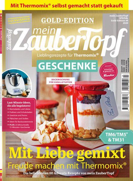 """mein ZauberTopf Gold-Edition """"GESCHENKE"""" 04/2020"""