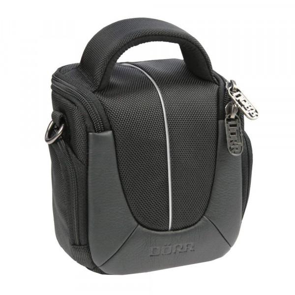 Fototasche Yuma in 5 verschiedenen Größen in schwarz/silber oder orange