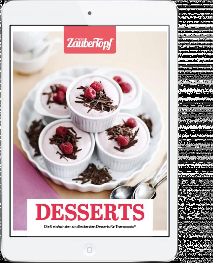 Mein ZauberTopf - E-Book Desserts mit dem Thermomix®