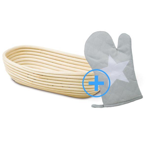 Gärkörbchen & Backhandschuh