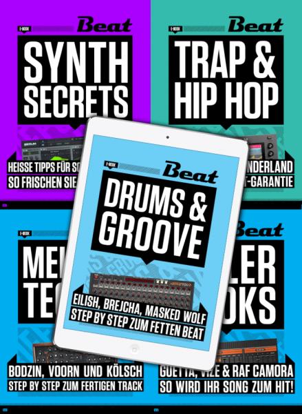 BEAT - Creative Producer Bundle [5 eBooks, 72 Seiten], deutsch