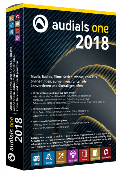 Audials One 2018