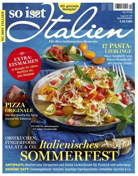 so is(s)t Italien Cover