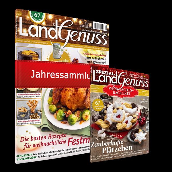LandGenuss Jahresarchiv 2017 + Sonderausgabe