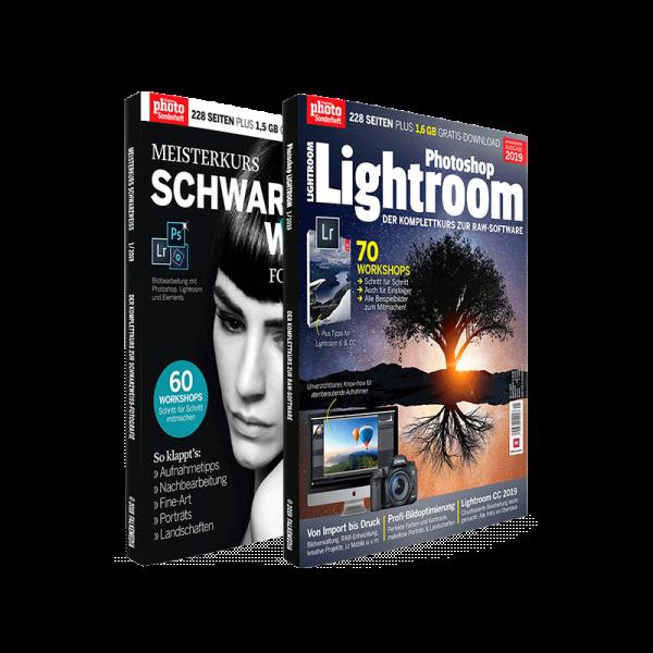 Bundle Photoshop Lightroom + Meisterkurs Schwarzweiß