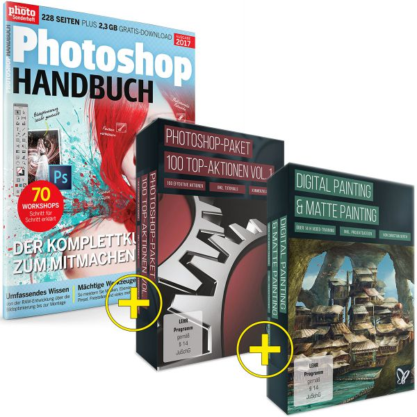 Photoshop Handbuch Paket