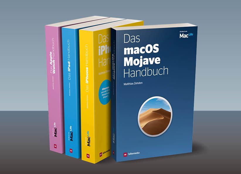 Mac Life Fachbücher-Sammlung 2019