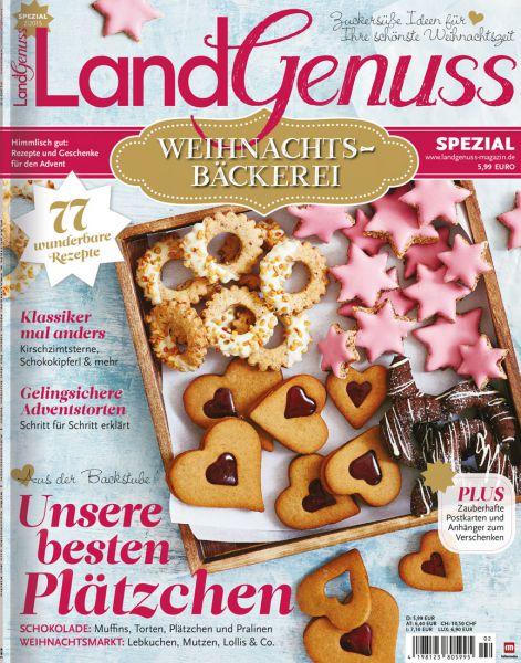 LandGenuss Spezial: Weihnachtsbäckerei 02/2015