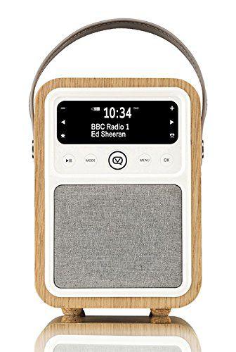 Monty Radio w/Bluetooth, Oak