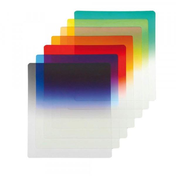 Go2 Verlauffilter in 7 verschiedenen Farben