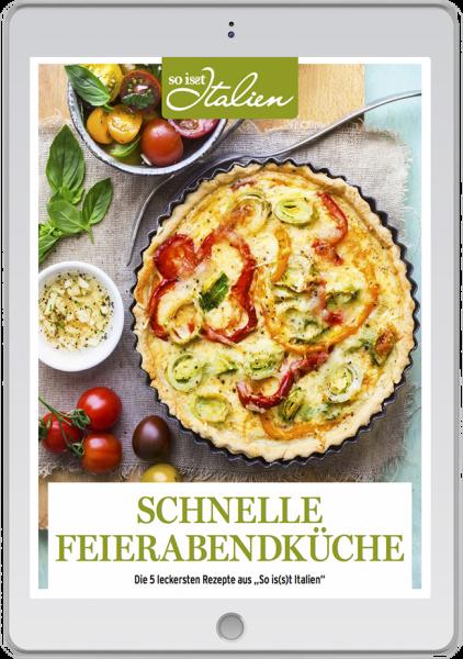 So is(s)t Italien - E-Book - schnelle Feierabendküche - Rezepte