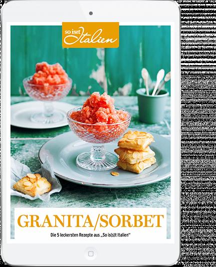 So is(s)t Italien - E-Book Granita- und Sorbet