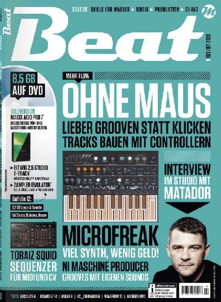 Beat 07/2019 Cover Front