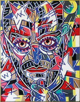 Gemälde: Steve Jobs