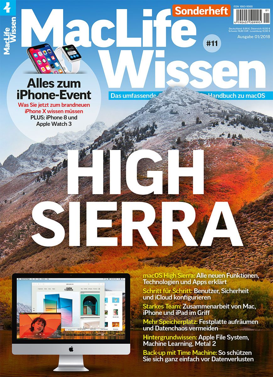 Mac Life Wissen 01/2018 → Jetzt bei falkemedia kaufen | falkemedia
