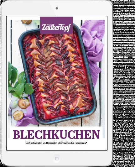 Mein ZauberTopf - E-Book Blechkuchen mit dem Thermomix®