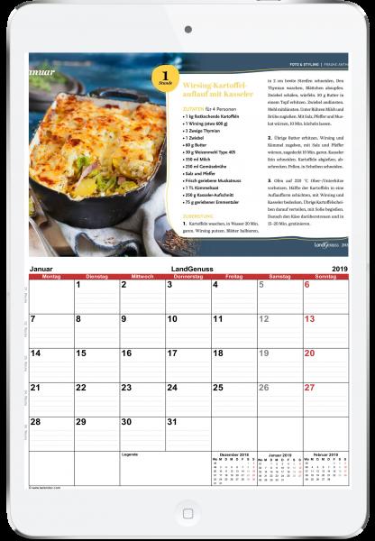 LandGenuss Kalender 2019