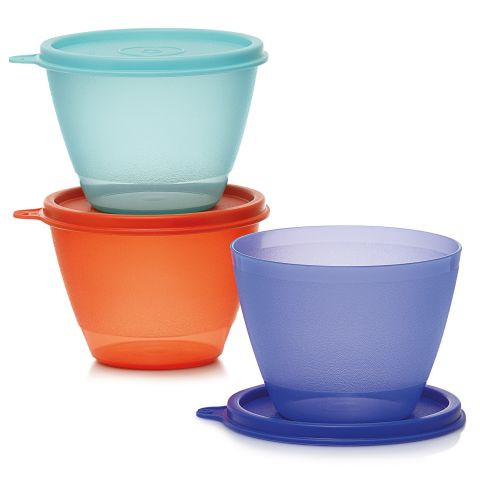 TUPPERWARE Buntes Trio