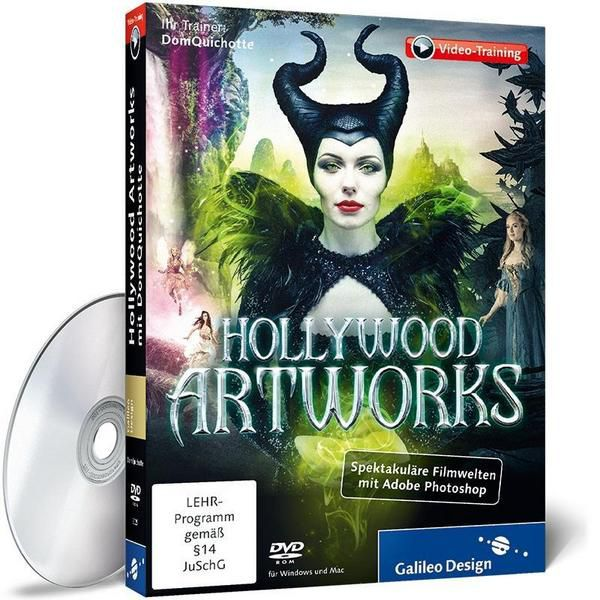 Hollywood Artworks mit DomQuichotte