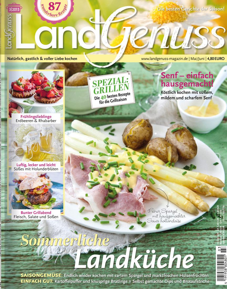 LandGenuss 03/2015 → Jetzt bei falkemedia kaufen | falkemedia