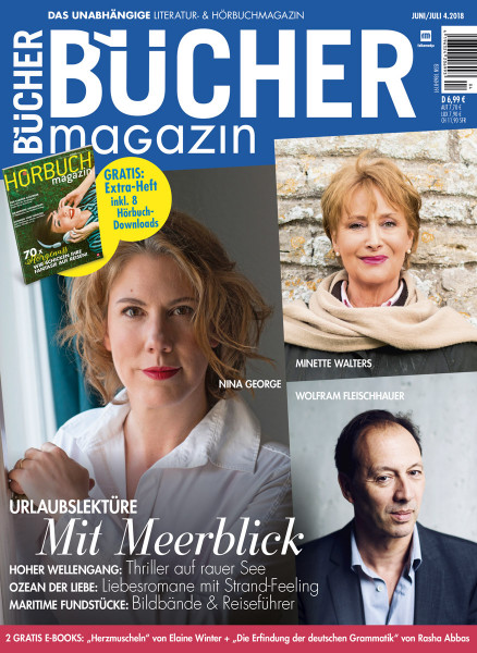 BÜCHERmagazin 04 2018 Cover